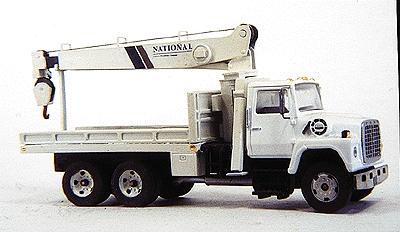 Custom Finishing National Telescoping Boom Truck Body Only - Kit -- Fits Atlas Ford Truck, Sold Separately - HO-Scale