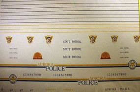 Chimney CO, UT, & Aurora State Trooper Police Decals Plastic Model Car Decal 1/24 Scale #3009
