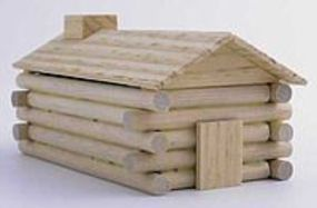 Chief Log Cabin Wooden Kit