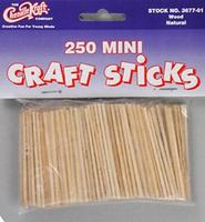 Chenile-Kraft Mini Craft Sticks (250)