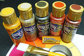 Chooch Weathering First Coat Acrylic Paint 5-Color Set Each Color 2oz  59.1ml
