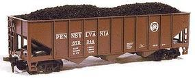 Chooch Coal Load pkg(2) - For MDC 3-Bay Hoppers HO Scale Model Train Freight Car Load #7063