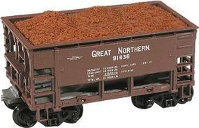 Chooch Iron Ore Loads For Model Die Casting Cars (4) HO Scale Model Train Freight Car Load #7088