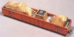 Chooch Heavy Equipment Load For Gondolas HO Scale Model Train Freight Car Load #7232