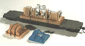 Chooch Crank Shaft with Pallets Load pkg(3) HO Scale Model Train Freight Car Load #7249