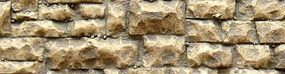 Chooch Flexible Random Stone Wall Medium Stones HO Scale Model Railroad Scenery #8252