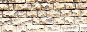 Chooch Flexible Cut Stone Wall Small Stones HO Scale Model Railroad Scenery #8260