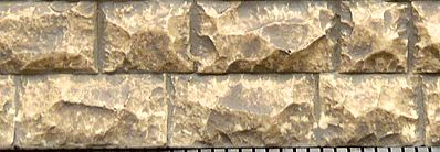 Chooch Enterprises Flexible Cut Stone Wall Large Stones -- HO Scale Model Railroad Scenery -- #8264