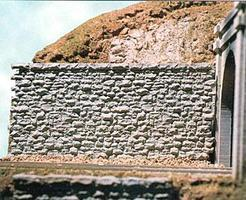 Chooch Random Stone Retaining Wall - Medium HO Scale Model Railroad Scenery Structure #8302
