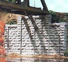 Chooch Cut Stone Stepped Wall HO Scale Model Railroad Scenery #8400