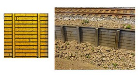 Chooch .75 x 3.75 x 12 Flexible Small Timber Retaining Wall (Self Adhesive)