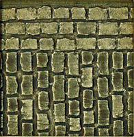 Chooch HO/O Flexible Large Cobblestone Street (Self Adhesive)