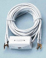Cir-Kit Transformer Lead-In Wire w/Switch & Spade Lugs