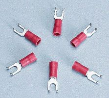 Cir-Kit Insulated Flanged Spade Lugs (6)