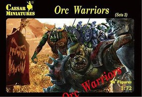 Caesar 1/72 Fantasy Orc Warriors Set #2 (34+)