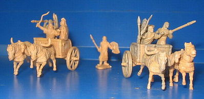 Caesar Miniatures Figures Battle of Qadesh 1300BC Hittite Warriors -- Plastic Model Military Figure -- 1/72 Scale -- #12