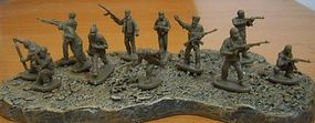 Caesar Modern Urban Resisters (Terrorists) (42) Plastic Model Military Figure 1/72 Scale #31