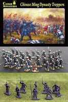 Caesar Chinese Ming Dynasty Troopers (30) Plastic Model Military Figure 1/72 Scale #32