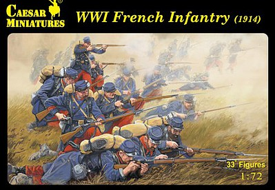 Caesar Miniatures Figures 1/72 WWI French Army (33)