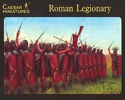 Caesar Roman Legionary (41) Plastic Model Military Figure 1/72 Scale #41