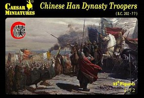Caesar 1/72 Chinese Han Dynasty Troopers (35+)