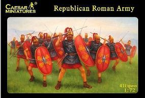 Caesar Republican Roman Army (41) Plastic Model Military Figure 1/72 Scale #45