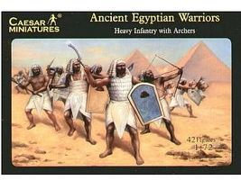 Caesar Ancient Egyptian Warriors Plastic Model Military Figure 1/72 Scale #47