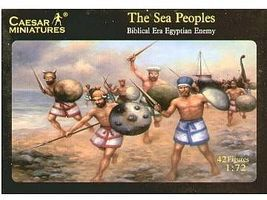 Caesar Biblical Era Egyptian Enemy Sea Peoples (42) Plastic Model Military Figure 1/72 Scale #48