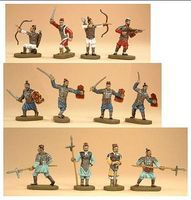 Caesar Ancient Chinese Chin Dynasty Army (42) Plastic Model Military Figure 1/72 Scale #4