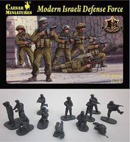 Caesar Modern Israeli Defense Force (40) Plastic Model Military Figure 1/72 Scale #57