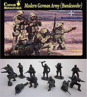 Caesar Modern German Army (Bundeswehr) (37) Plastic Model Military Figure 1/72 Scale #62