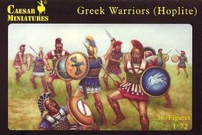 Caesar Greek Warriors (Hoplite) (37) Plastic Model Military Figure 1/72 Scale #65