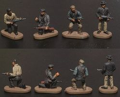 Caesar WWII Underground Resisters (Partisans) (42) Plastic Model Military Figure 1/72 Scale #6
