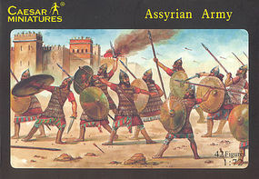 Caesar Assyrian Army (42) Plastic Model Military Figure 1/72 Scale #7