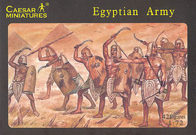 Caesar Egyptian Army (42) Plastic Model Military Figure 1/72 Scale #9