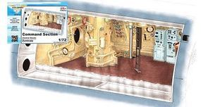 CMK 1/72 German U-Boat Type IX C Command Section (Control Room) for RVL