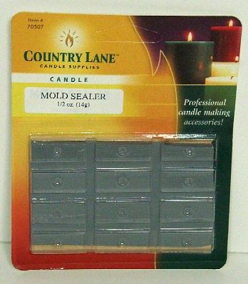 Candle Making Supplies Plastic Mold Sealer 1/2oz. -- Candle Making Kit -- #70507