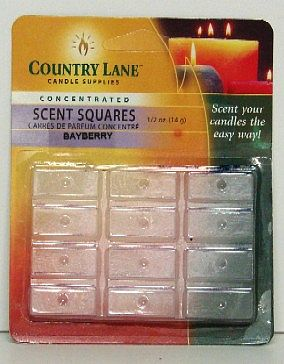 Candle Making Supplies Concentrated Scent Square Bayberry 1/2oz. -- Candle Making Kit -- #70701