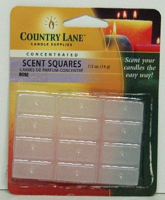 Candle Making Supplies Concentrated Scent Square Rose 1/2oz. -- Candle Making Kit -- #70720