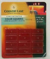 Candle-Making Concentrated Color Square Orange 1/2oz. Candle Making Kit #90609