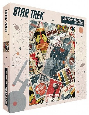 Culturenik Star Trek- Convention Tickets Collage Puzzle (1000pc)