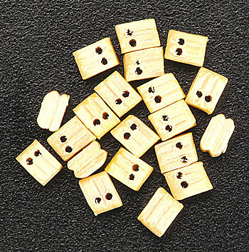 Constructo Block & Tackle 3mm (20) Wooden Boat Model Accessory #80010