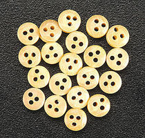 Constructo Deadeyes 4mm (20) Wooden Boat Model Accessory #80015