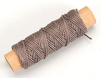 Constructo .75mm Dark Cotton Rigging Thread Model Boat Part