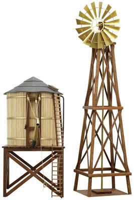 Water Tower Amp Windmill Kit Ho Cns80310 Constructo Ho
