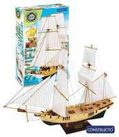 Constructo 1/75 HMS Swift 3-Masted Schooner Ship w/painted plastic hull (Intermediate)