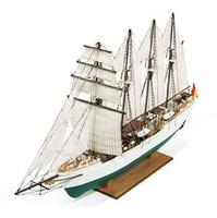 Constructo 1/205 JS Elcano 4-Masted Spanish 1927 Training Ship w/painted plastic hull (Intermediate)