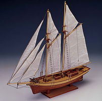 Constructo 1/80 Carmen Double-Masted Spanish 1850 Sailing Ship w/plank-on frame (Intermediate)