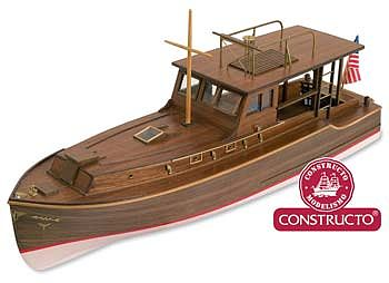 Constructo 1/27 Pilar Hemingways Fishing Boat w/plank-on frame (Advanced)