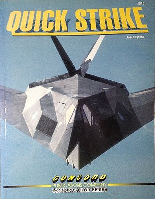 Concord Publications Quick Strike (D) -- Military History Book -- #4015